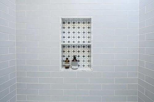 Pattern Shower Tile