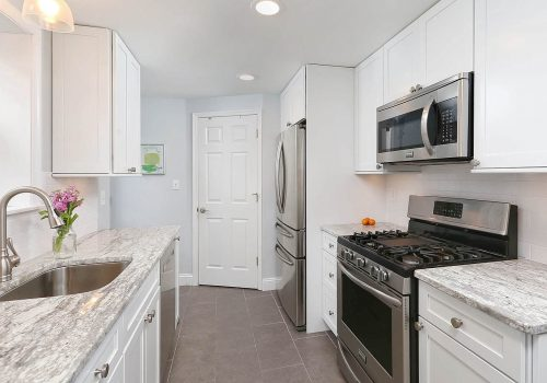 Efficient Galley Kitchen Remodel