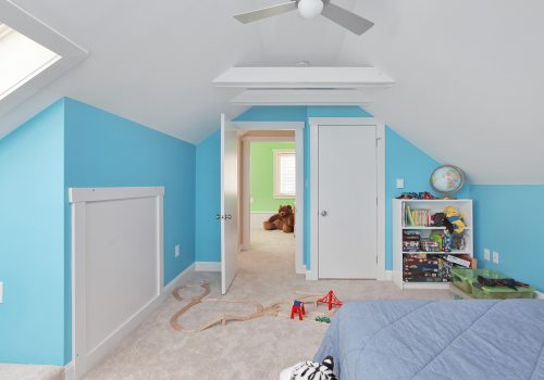 Playful Kids' Bedroom Attic Conversion