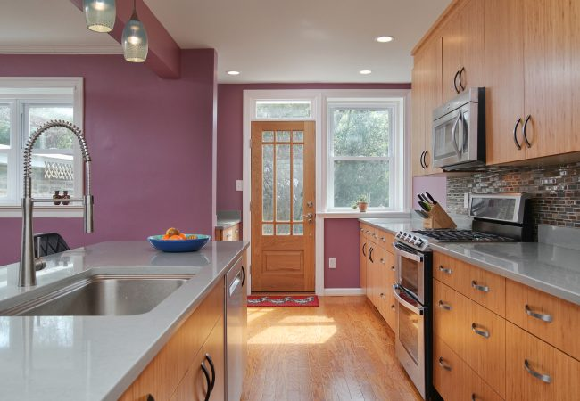 Mount Airy Kitchen with Island