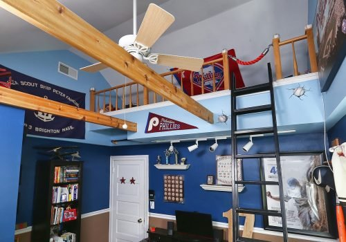 Teenager's Dream Bedroom Loft