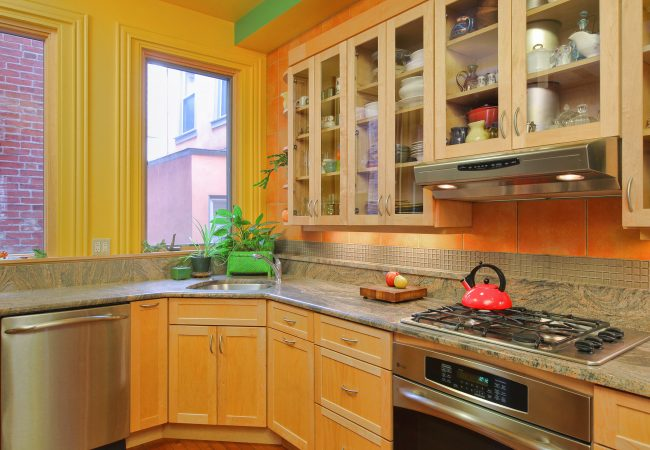 Rittenhouse Square Custom Kitchen 2