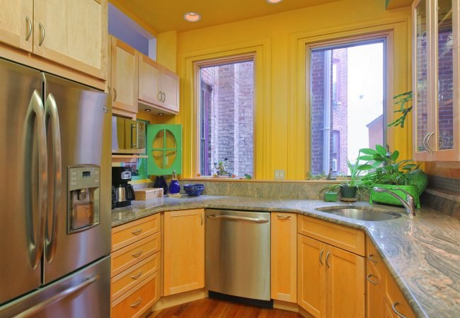 Rittenhouse Square Custom Kitchen 3