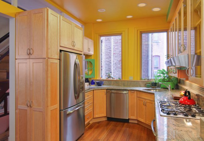 Rittenhouse Square Custom Kitchen 4