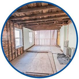 Bellweather Design Build remodeling progress photo in philadelphia