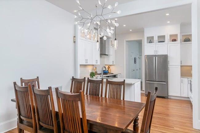 Open Floorplan Kitchen and Dining Room