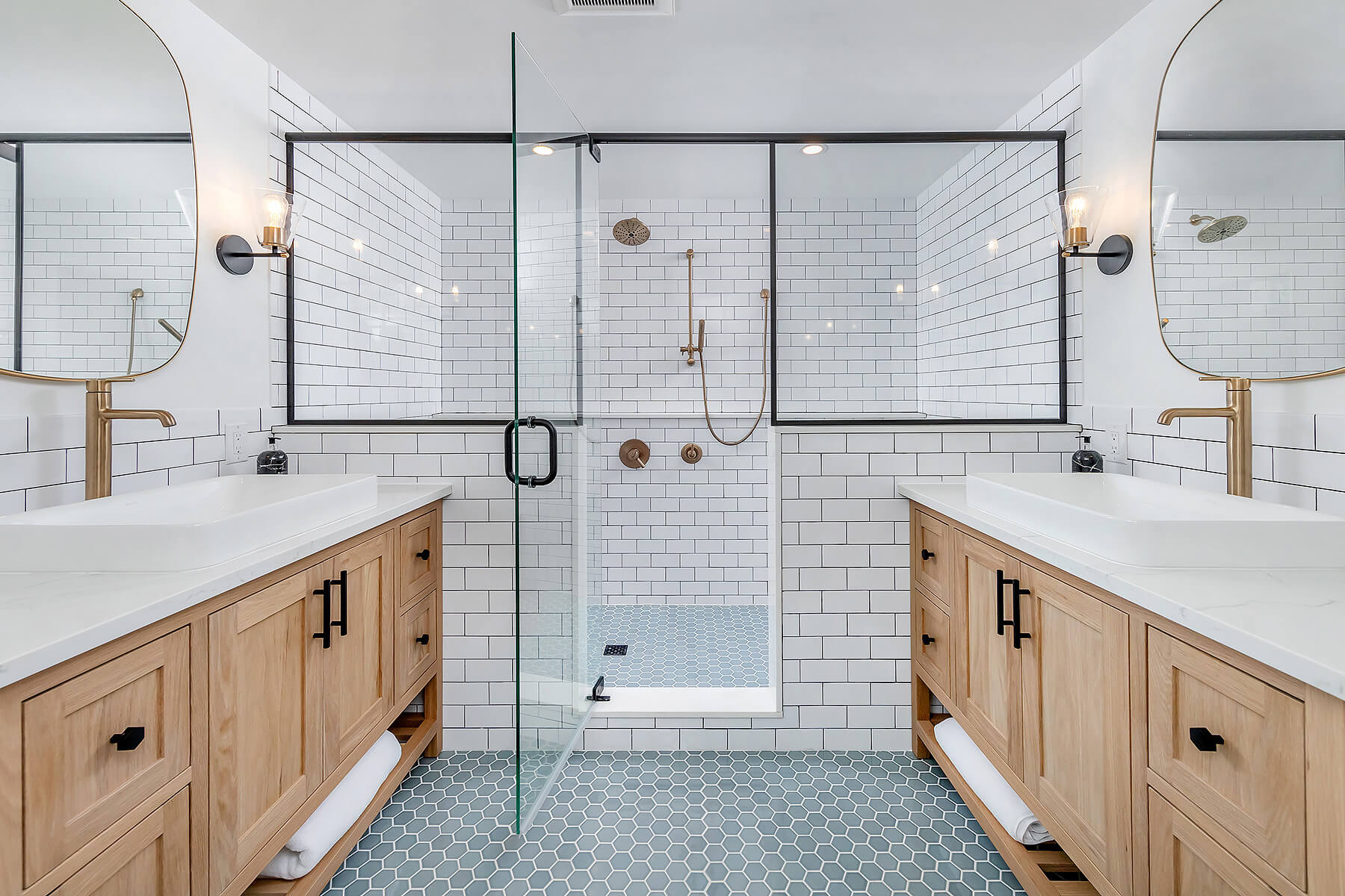 Transitional Bathroom Remodel Philadelphia