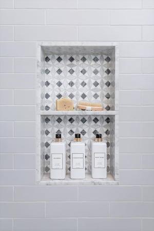 Custom Shower Niche Ideas