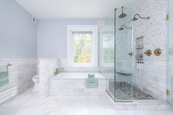 Master Shower Tub Combo