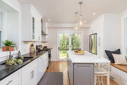 Mount Airy Kitchen Remodel with Transitional Expansion