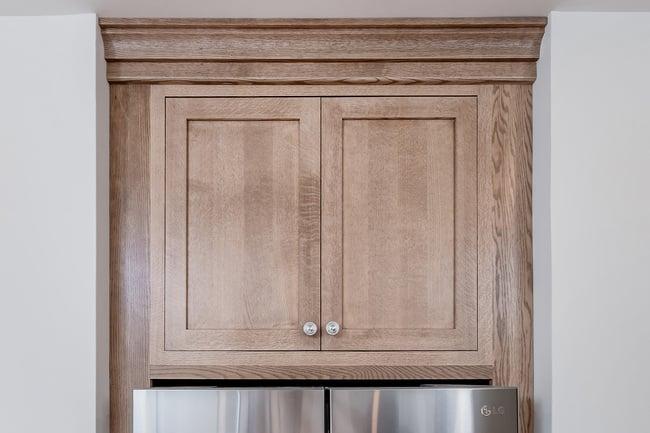 Light Brown Wood Cabinet
