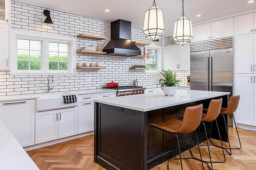 Transitional Kitchen Remodel on the Main Line