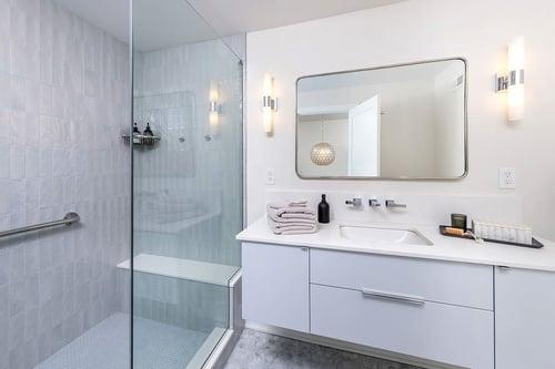 Transitional Bathroom Remodel in Washington Square