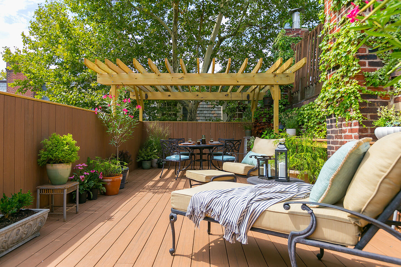 Roof Deck in Philadelphia - Bellweather Design-Build