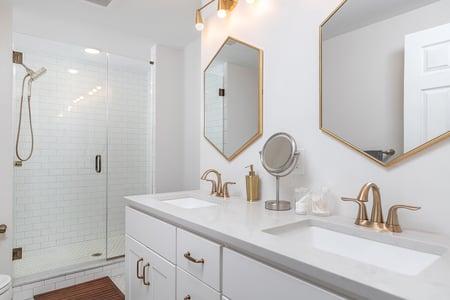 BW Bathroom Remodel in Philadelphia 2